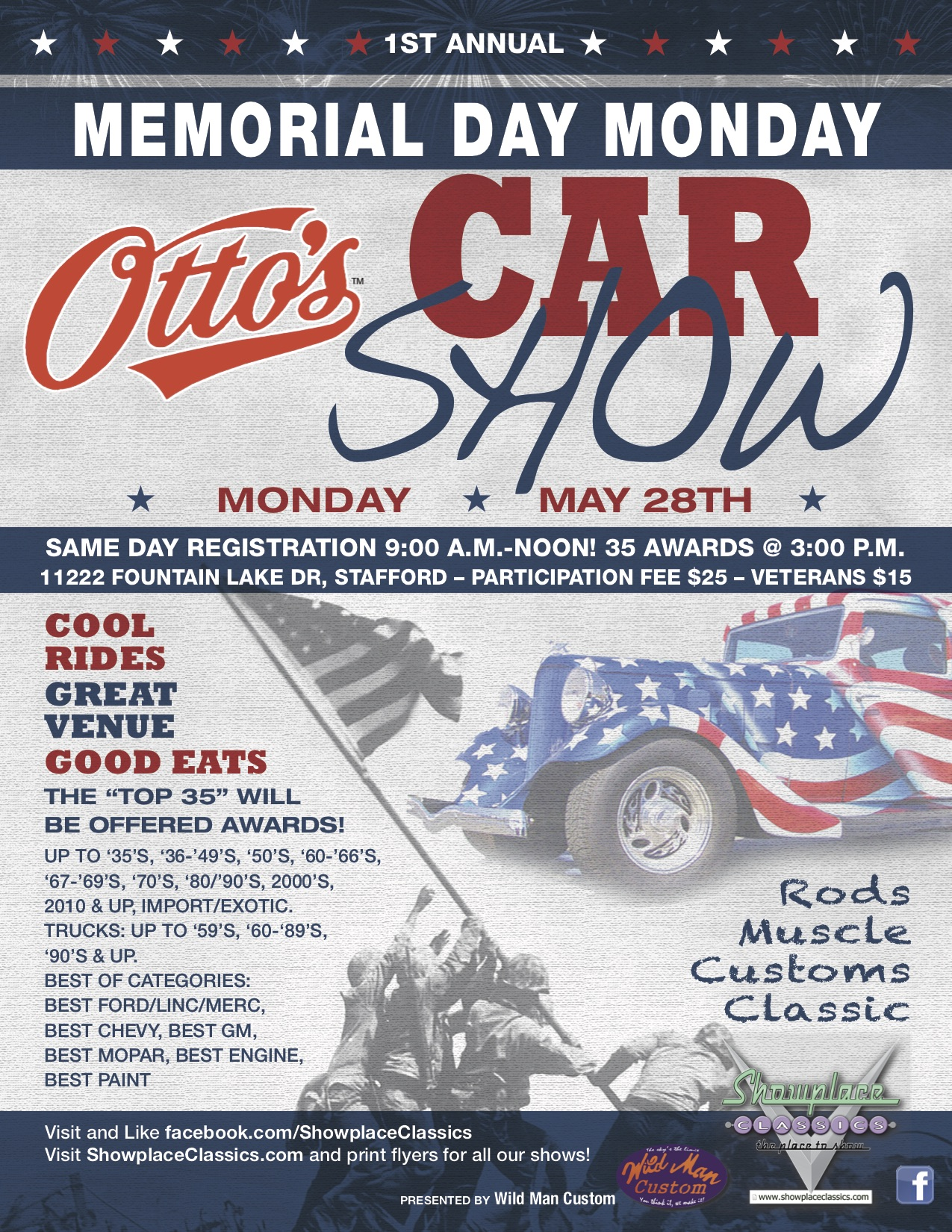 Maryland Car Registration >> Memorial Day Car Show @Otto's BBQ | Car Show Radar