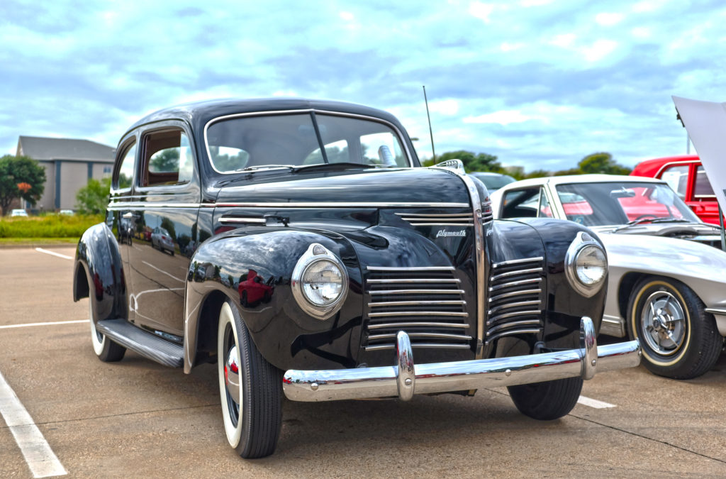 Beautifully restored 1940 Plymouth