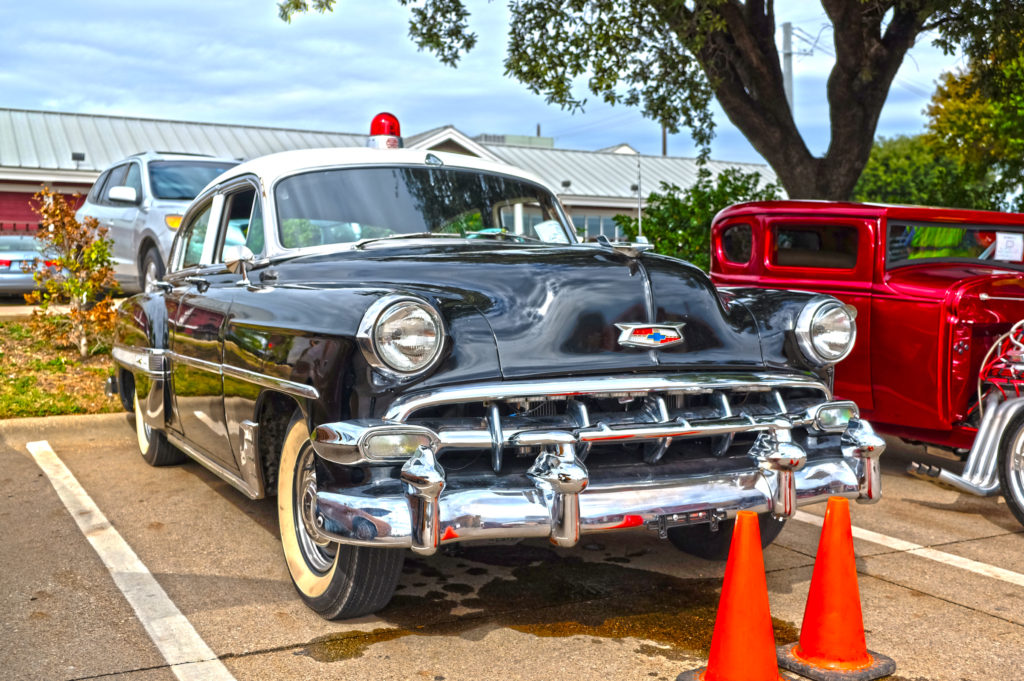 Cool 1954 Chevy Cop Car