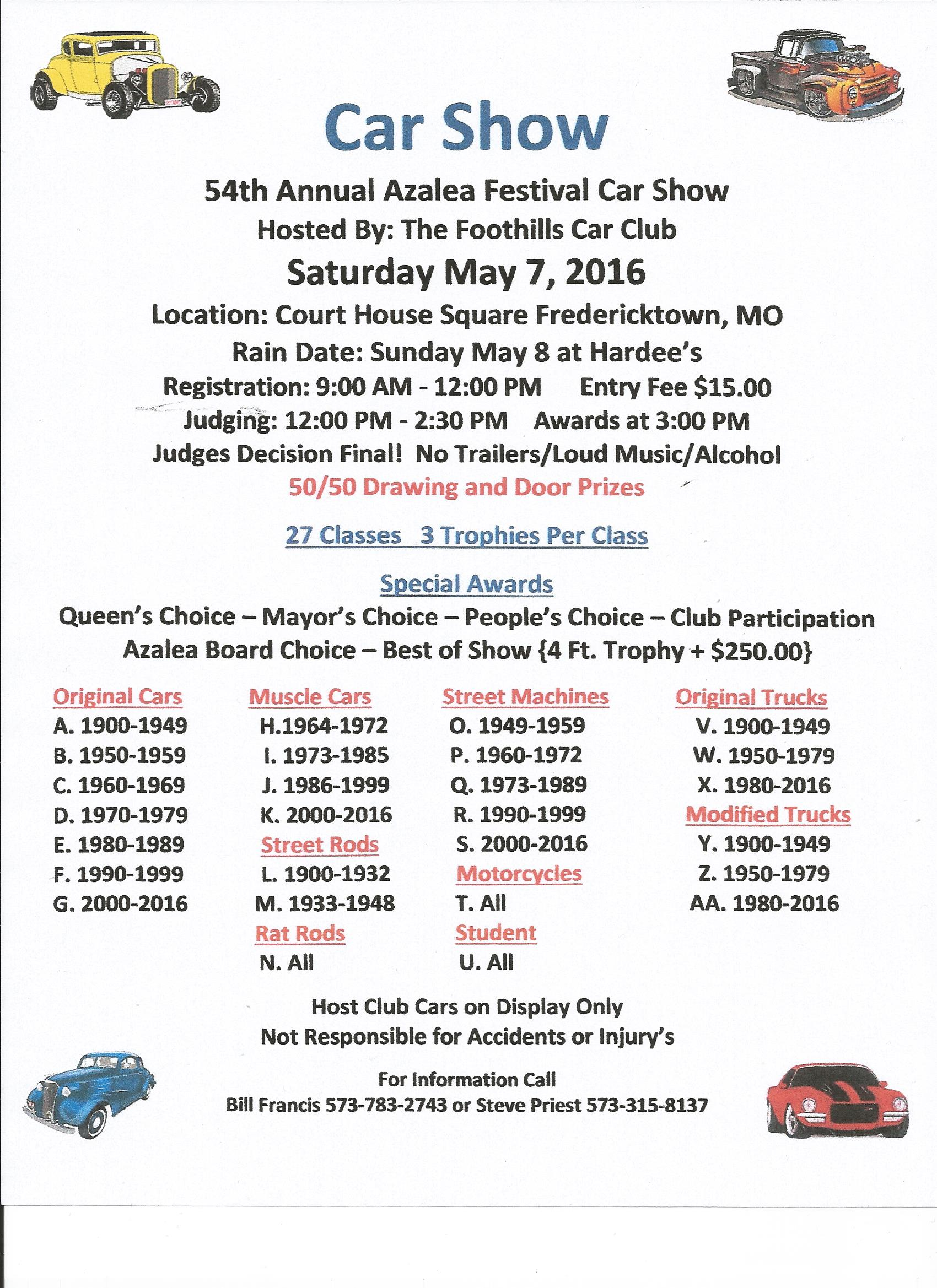 Car Shows In Missouri May