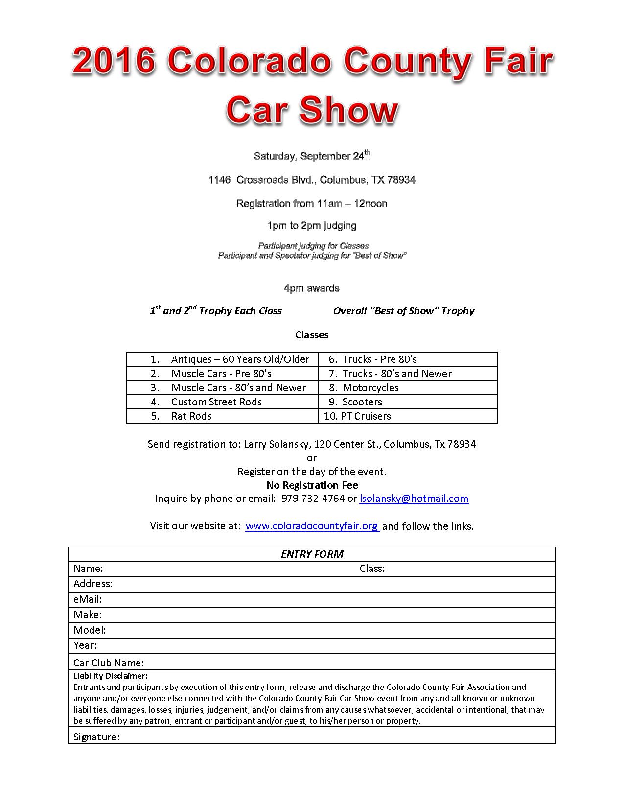 Indiana State Fair Car Show