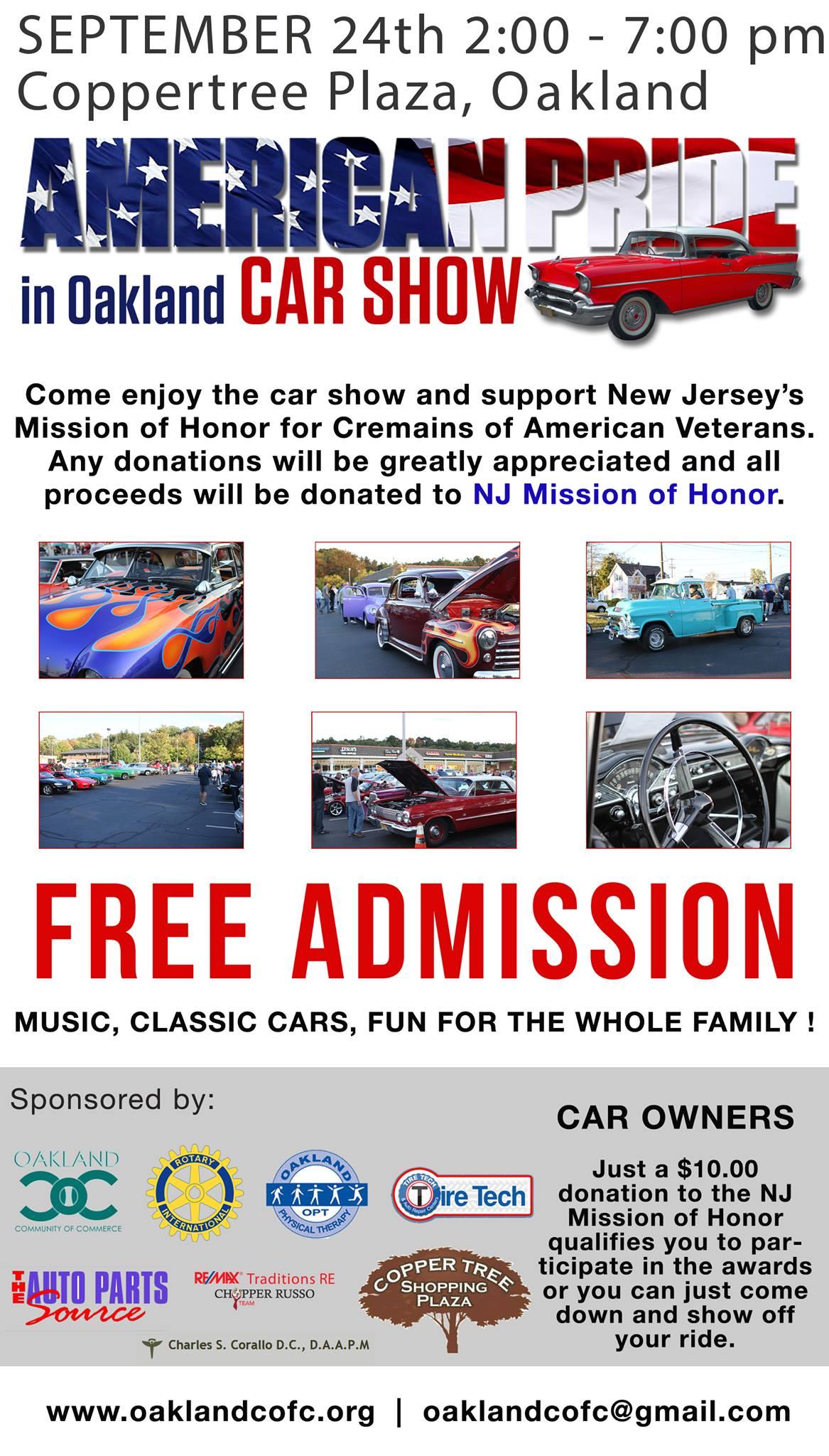 American Pride Car Show Car Show Radar - Oakland car show