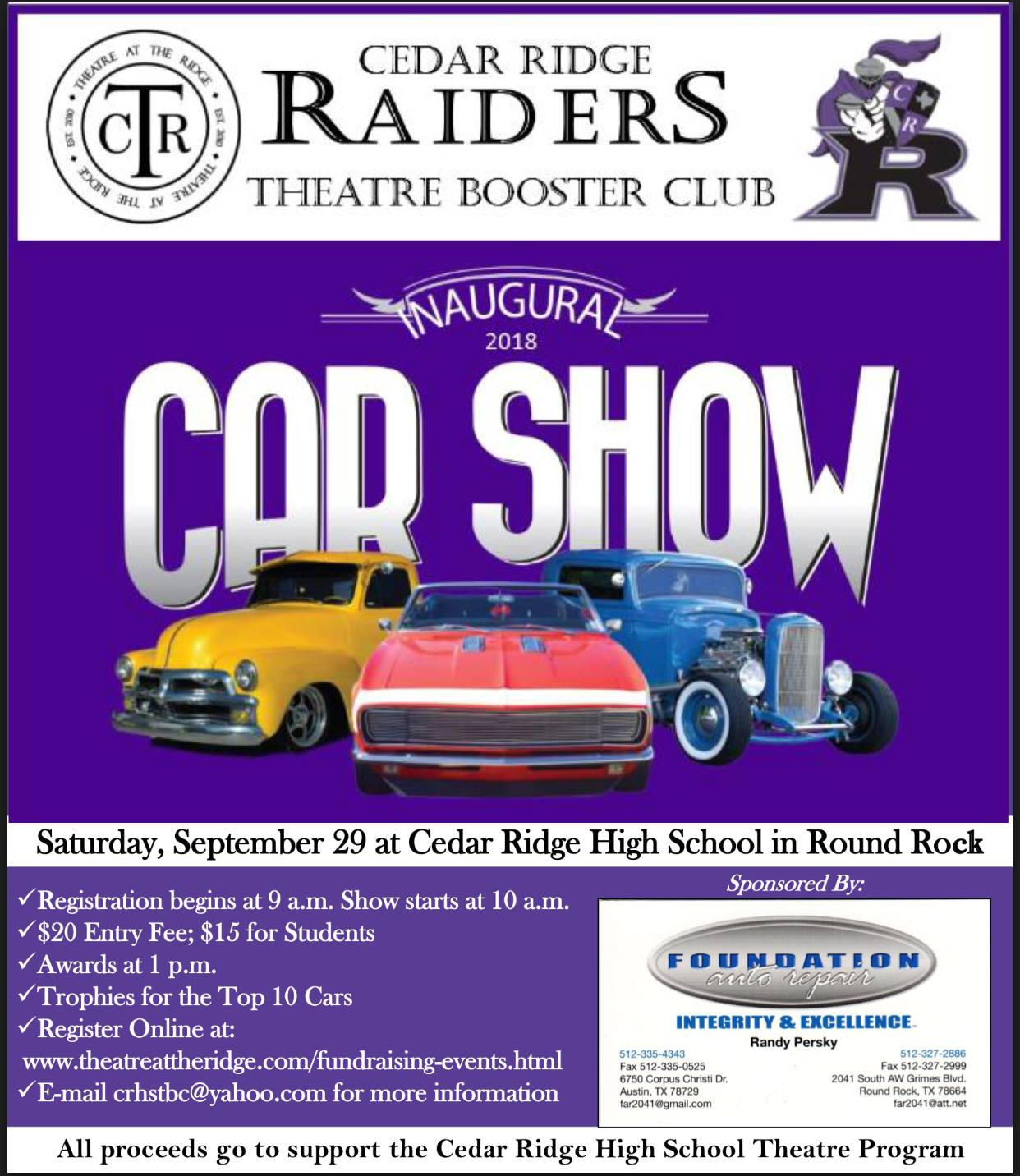 New Jersey Car Shows October