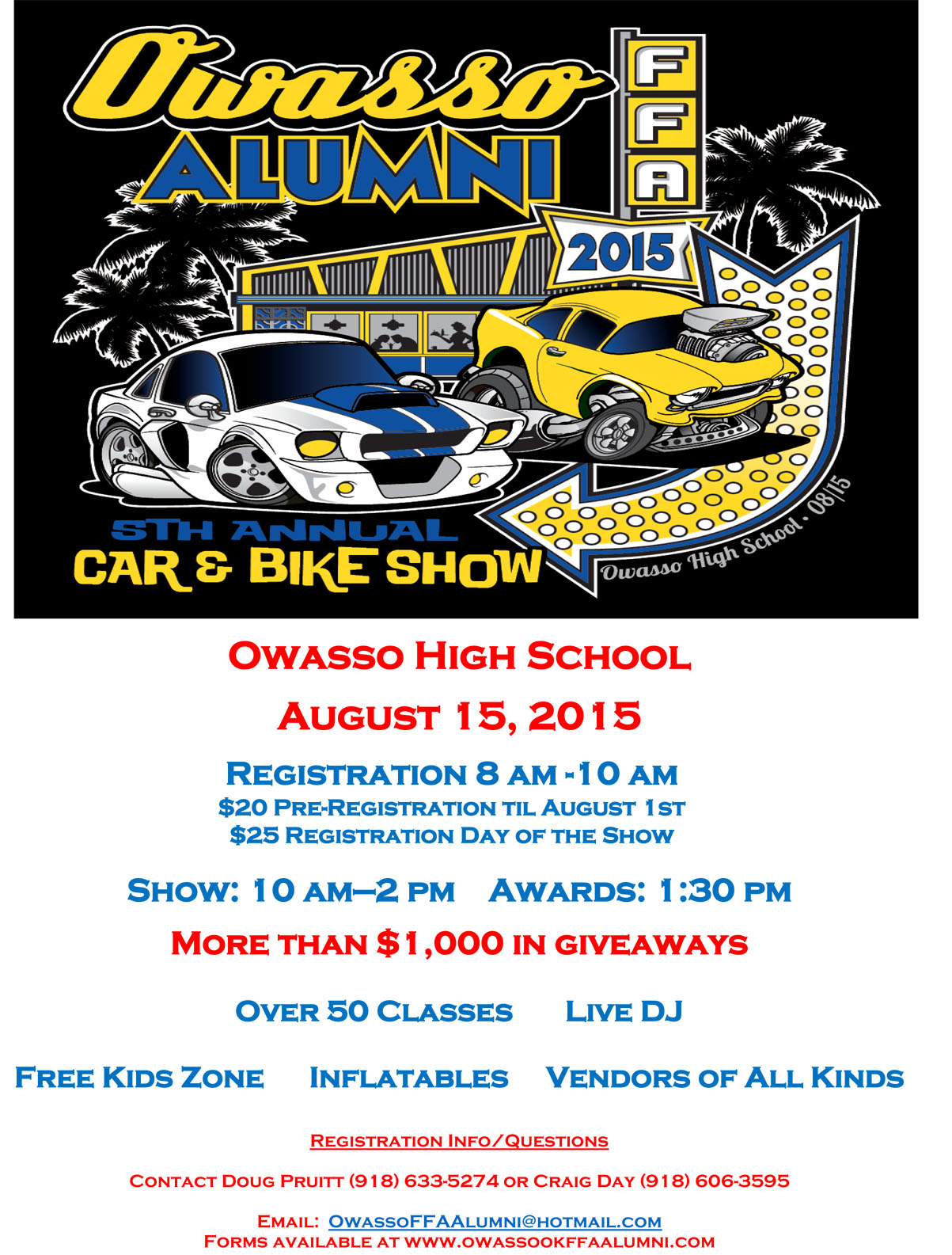 Car Show Flyer Car Show Radar - Car show giveaways