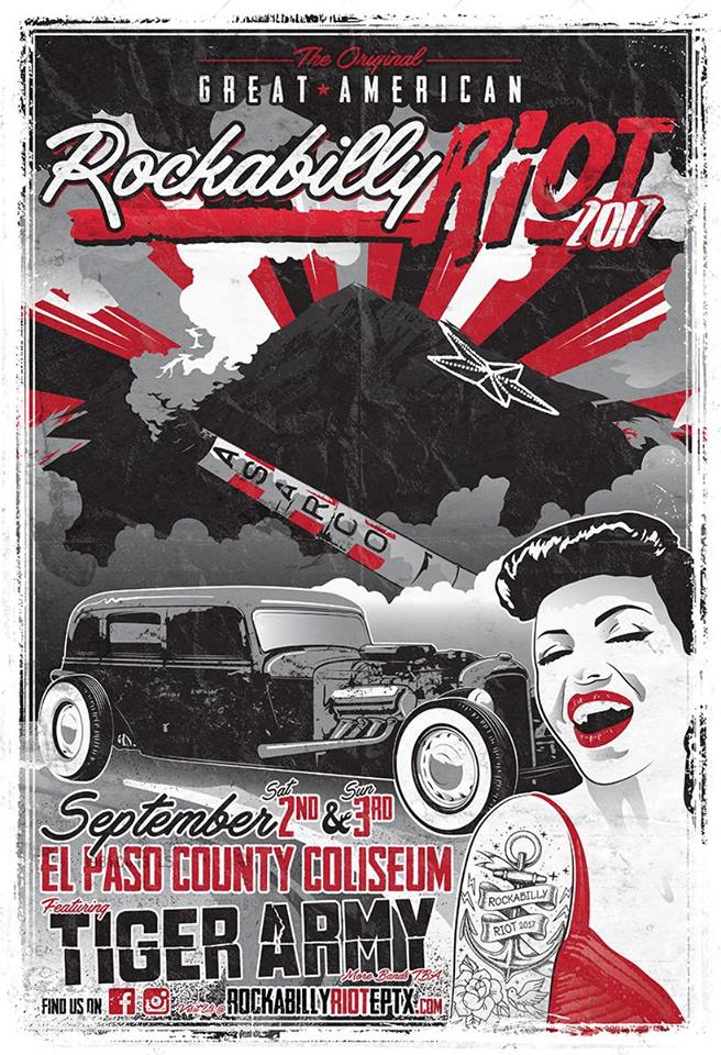 The 6th annual great american rockabilly riot car show radar for Great american el paso