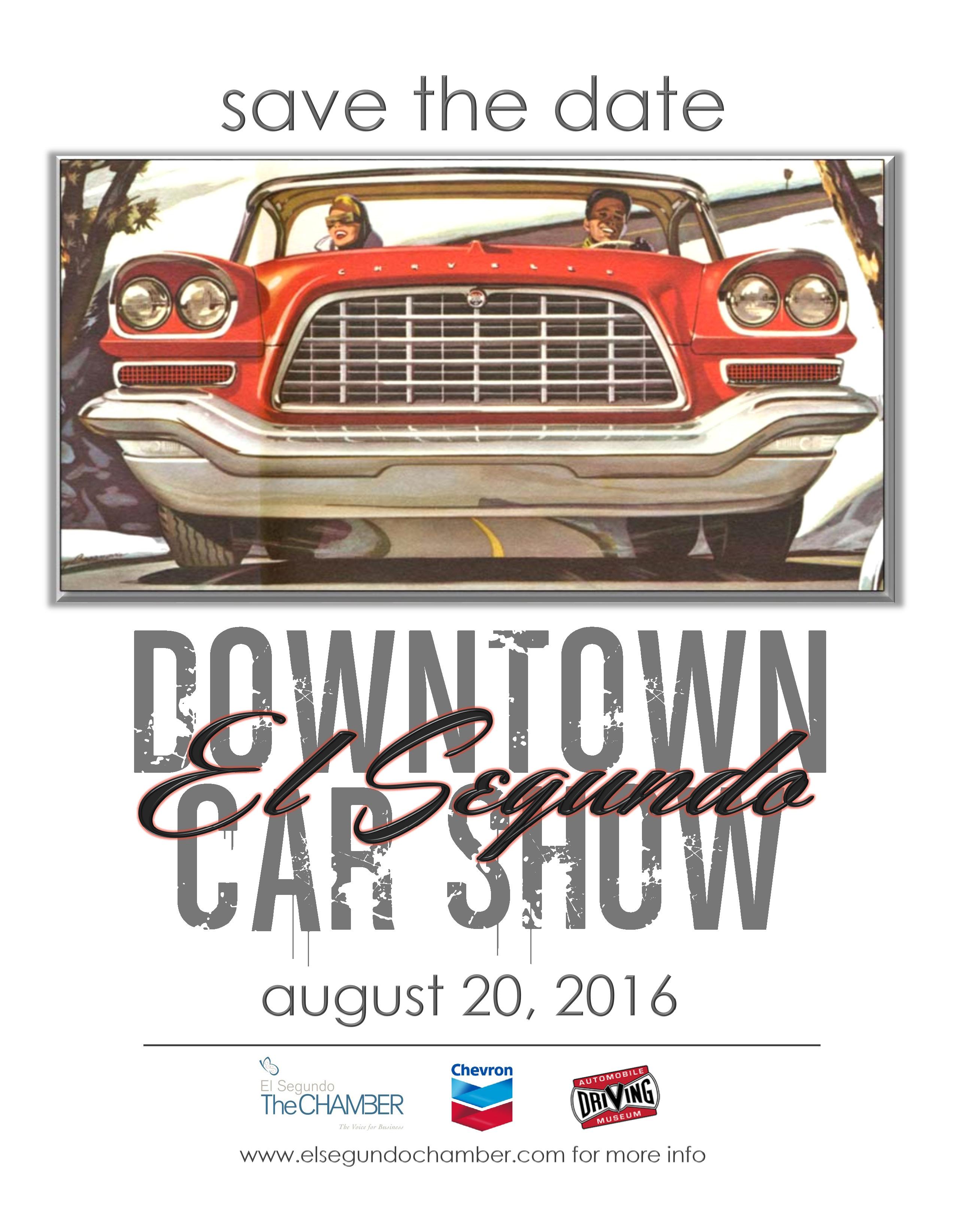 Downtown El Segundo Main Street Car Show Car Show Radar - Main street car show