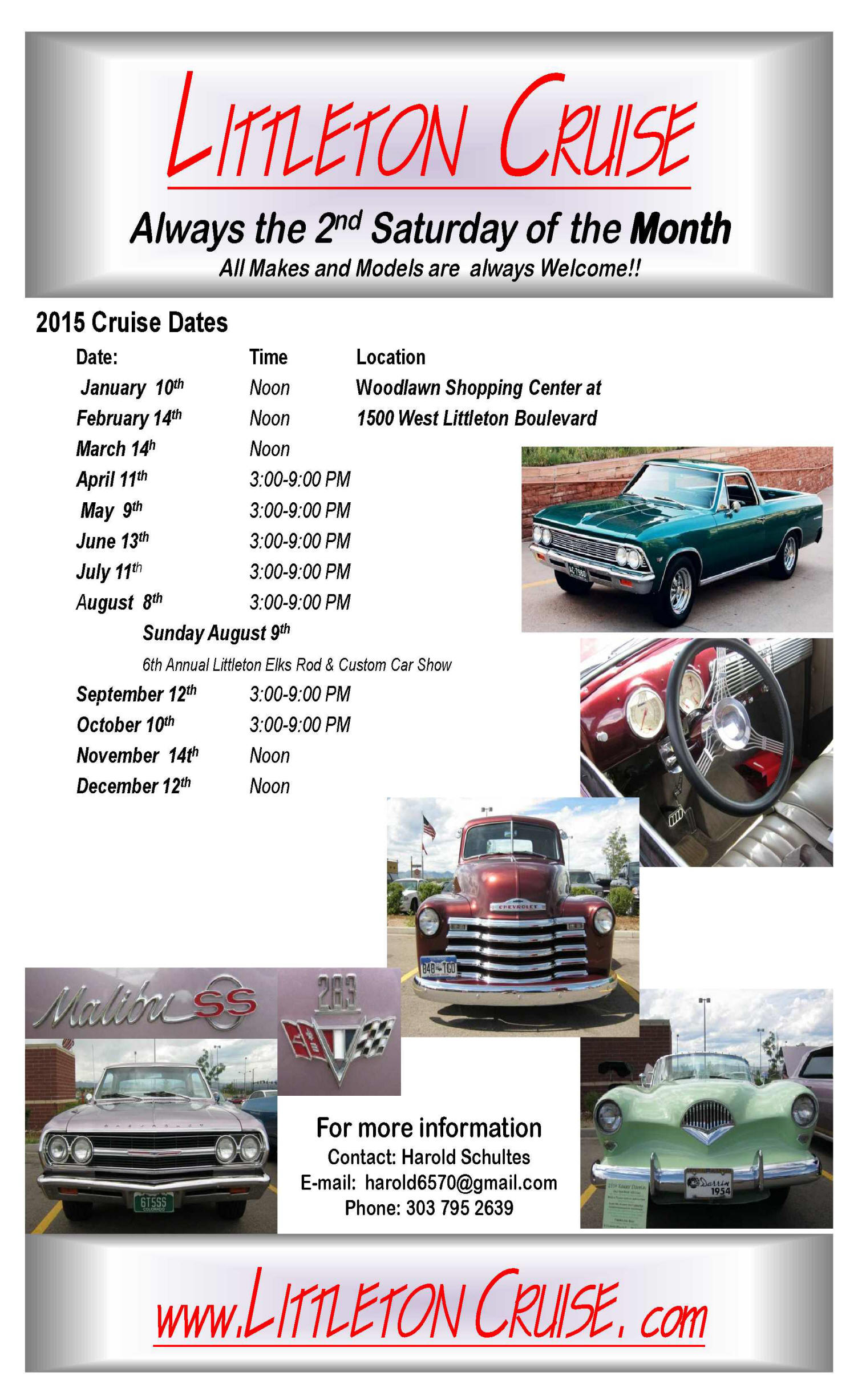 Littleton Cruise Car Show Radar - Littleton car show