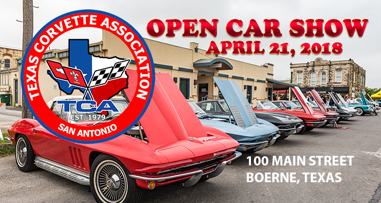 Texas Corvette Association Open Car Show Car Show Radar - Car show in san antonio tx