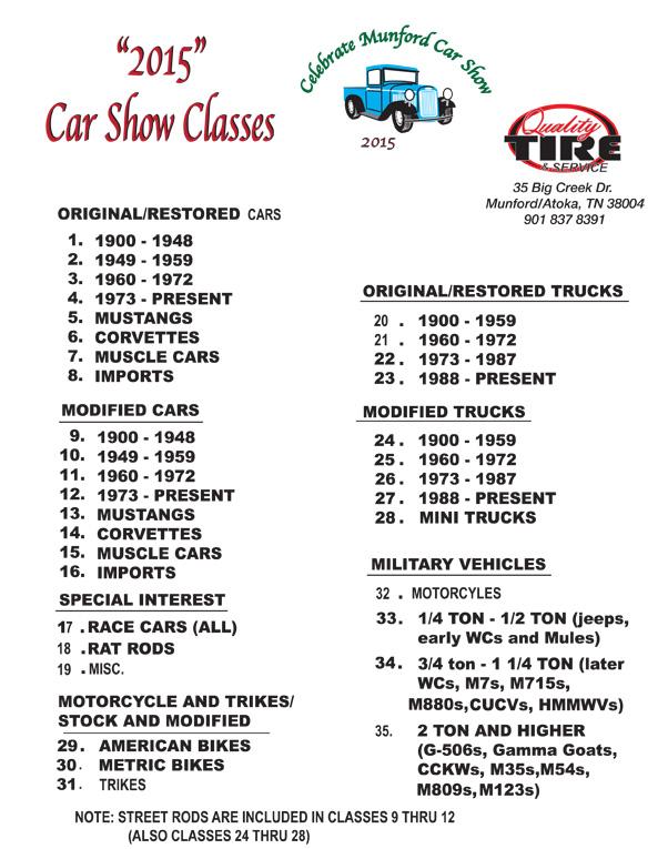 Car Detailing Prices >> Celebrate Munford Car Show   Car Show Radar