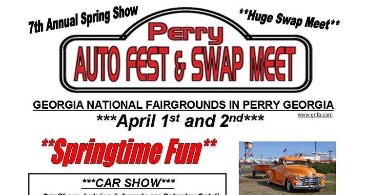 perry ga swap meet car show