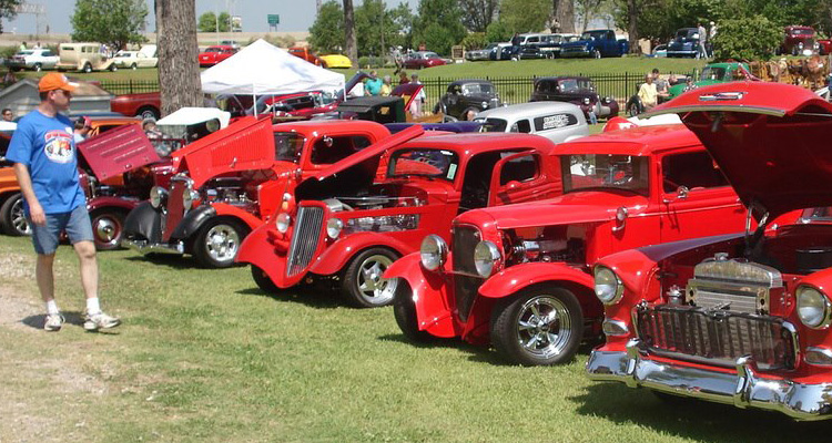 Wills Point Car Show