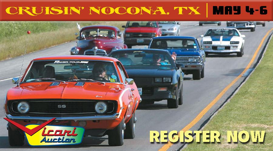 Vicari Auctions Cruisin Nocona Car Show Radar - Nocona car show